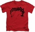 Betty Boop kids t-shirt Word Hair red