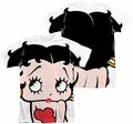 Betty Boop mens full sublimation t-shirt Big Boop Head
