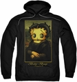 Betty Boop pull-over hoodie Boopalisa adult black