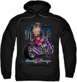 Betty Boop pull-over hoodie City Chopper adult black