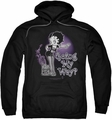 Betty Boop pull-over hoodie My Way adult black