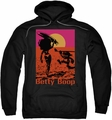 Betty Boop pull-over hoodie Summer adult black
