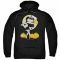 Betty Boop pull-over hoodie Vamp Pumkins adult black