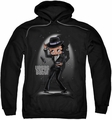 Betty Boop pull-over hoodie Vegas Baby adult black