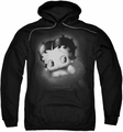 Betty Boop pull-over hoodie Vintage Star adult black