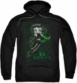 Betty Boop pull-over hoodie Virtual Boop adult black