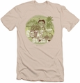 Betty Boop slim-fit t-shirt California mens cream