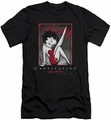 Betty Boop slim-fit t-shirt Captivating mens black