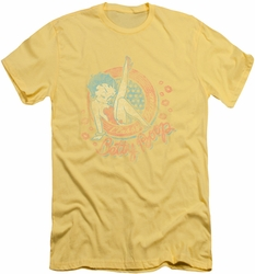 Betty Boop slim-fit t-shirt Classy Dame mens banana
