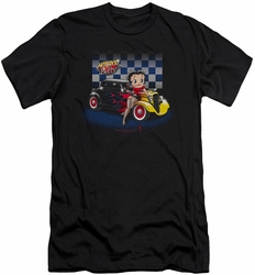 Betty Boop slim-fit t-shirt Hot Rod Boop mens black