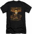 Betty Boop slim-fit t-shirt Rebel Rider mens black
