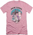 Betty Boop slim-fit t-shirt Singing In Ny mens pink