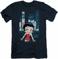 Betty Boop slim-fit t-shirt Square mens navy