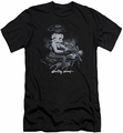 Betty Boop slim-fit t-shirt Storm Rider mens black