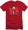 Betty Boop slim-fit t-shirt Timeless Beauty mens red