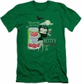 Betty Boop slim-fit t-shirt Vampire Tomato Juice mens kelly green