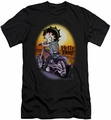 Betty Boop slim-fit t-shirt Wild Biker mens black