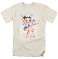 Betty Boop t-shirt All Ashore mens cream