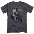 Betty Boop t-shirt Bbmc mens charcoal