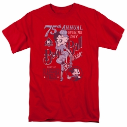 Betty Boop t-shirt Boop Ball mens red