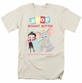 Betty Boop t-shirt Boop Peanut Butter mens cream