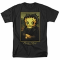 Betty Boop t-shirt Boopalisa mens black