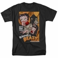 Betty Boop t-shirt Boyfriend The Beast mens black