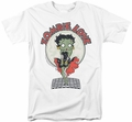 Betty Boop t-shirt Breezy Zombie Love mens white