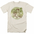 Betty Boop t-shirt California mens cream