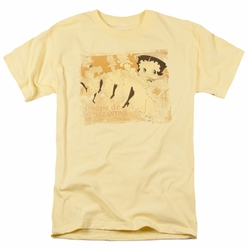 Betty Boop t-shirt Can Can mens banana