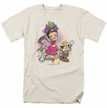 Betty Boop t-shirt Celebration mens cream