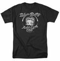 Betty Boop t-shirt Chromed Logo mens black