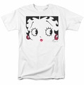 Betty Boop t-shirt Close Up mens white