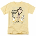 Betty Boop t-shirt Dressed To Chill mens banana