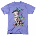 Betty Boop t-shirt Fairy mens lavendar