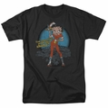 Betty Boop t-shirt Fries With That mens black