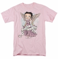 Betty Boop t-shirt Grandma Guardian Angel mens pink