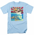 Betty Boop t-shirt Hang Ten mens light blue