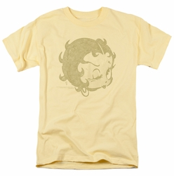 Betty Boop t-shirt Hey There mens banana