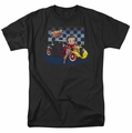 Betty Boop t-shirt Hot Rod Boop mens black