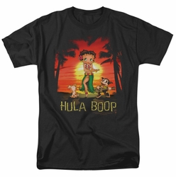 Betty Boop t-shirt Hulaboop mens black