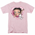 Betty Boop t-shirt I Love Betty mens pink