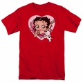 Betty Boop t-shirt I Love Betty mens red