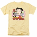 Betty Boop t-shirt Kiss mens banana