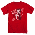 Betty Boop t-shirt Lover Girl mens red