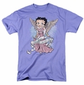 Betty Boop t-shirt Mother Guardian Angel mens lavendar