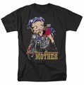 Betty Boop t-shirt Not Your Average Mother mens black