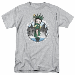 Betty Boop t-shirt Nyc mens heather