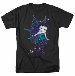 Betty Boop t-shirt Sparkle Fairy mens black