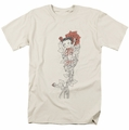 Betty Boop t-shirt Thorns mens cream